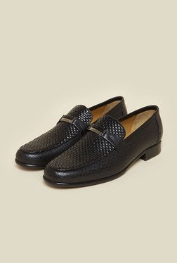 Da Vinchi by Metro Black Slip-On Shoes