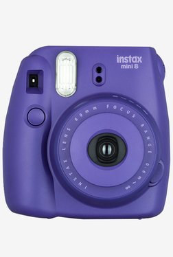 Fujifilm INSTAX MINI 8 Instant Camera Grape Fujifilm Electronics TATA CLIQ