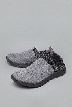 Westsport Grey Slip-Ons Shoes