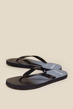 Zudio Black Thong Flip Flops
