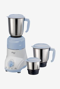 Oster 5011 500W Mixer Grinder (White & Blue)