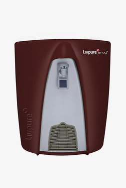 Livpure Envy Plus RO+UV+UF Water Purifier Dark Maroon