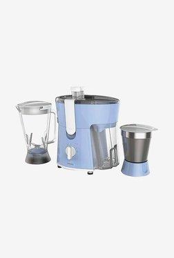 Philips HL7575/00 600W Juicer Mixer Grinder (White & Blue)