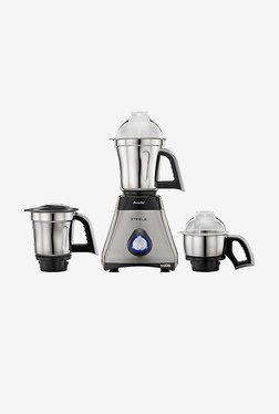 Preethi Steele Max MG212 750W Mixer Grinder (Grey)