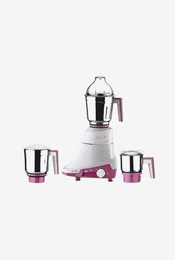 Preethi Daisy MG201 750W Mixer Grinder (White & Pink)
