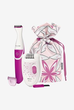 Philips HP6548/00 Bikini Trimmer Combo Pack (White)