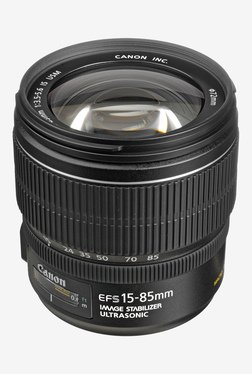Canon EF-S 15-85mm f/3.5-5.6 IS USM Lens Black