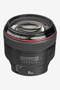Canon EF 85mm f/1.2L II USM Lens Black