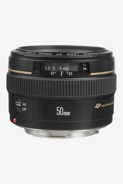 Canon EF 50mm f/1.4 USM Lens Black