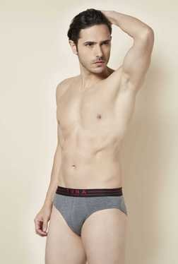 Tuna London Grey Solid Brief
