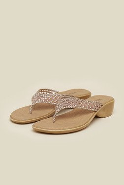 Inc.5 Copper Flat Sandals