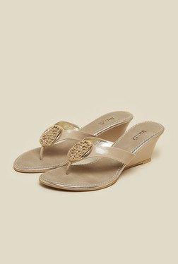 Inc.5 Beige Wedge Heel Sandals - Mp000000000192441