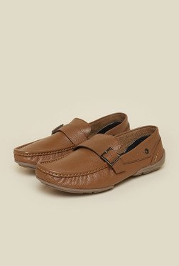 Privo by Inc.5 Tan Leather Formal Moccasins