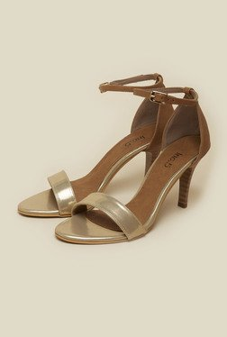 Inc.5 Gold Ankle Strap Casual Sandals