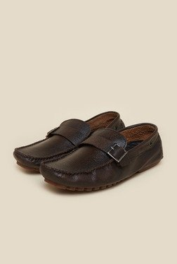 Privo by Inc.5 Brown Leather Moccasins