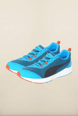 Puma Ignite Atomic Blue & Black Running Shoes