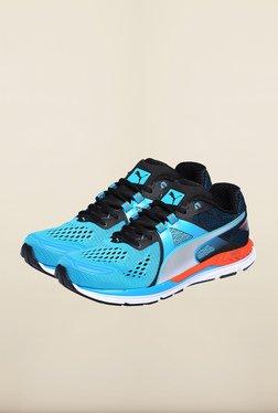 Puma Speed 600 Ignite Blue & Black Running Shoes