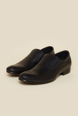 Privo By Inc.5 Black Casual Slip-On Shoes