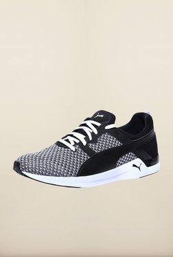Puma Pulse XT Black & White Training Shoes