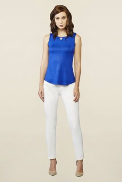 AND Ink Blue Nile Knit Top