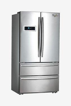Whirlpool FDBM Frost Free Triple Door Refrigerator (Silver)