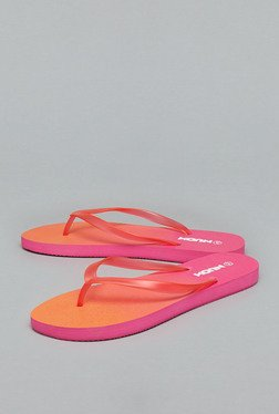 Nuon Orange Thong Flip Flops