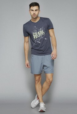 Westsport Grey Printed T Shirt