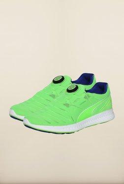 Puma Ignite Green Gecko Slip-On Shoes