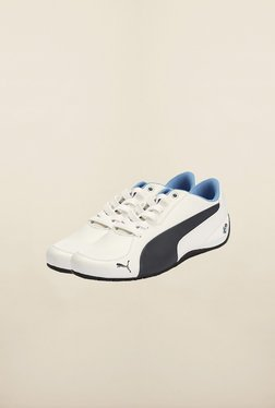 Puma BMW White & Black Sneakers