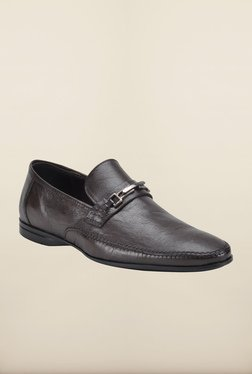 Franco Leone Brown Formal Slip-Ons Shoes - Mp000000000203572