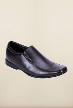 Franco Leone Brown Formal Slip-Ons Shoes - Mp000000000203239
