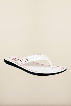 Franco Leone White Slippers