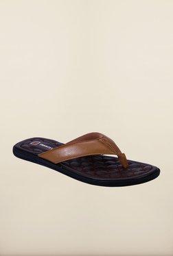 Franco Leone Camel Slippers