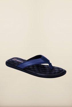 Franco Leone Blue Slippers