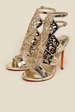 Carvela by Kurt Geiger Gold Goose Sandals
