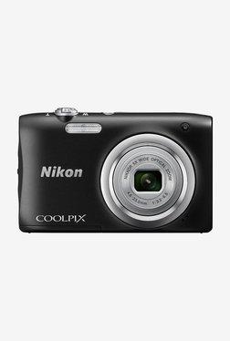Nikon Coolpix A100 Point and Shoot Camera (Black)
