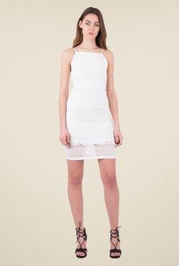 MIM Off White Lace Shift Dress