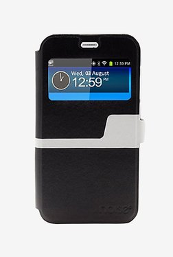 Noise Flip Cover For Huawei Ascend Y625 (Black)