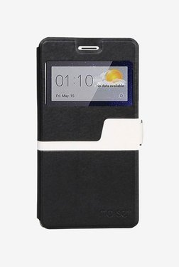 Noise Flip Cover for Oppo R7s (Black)