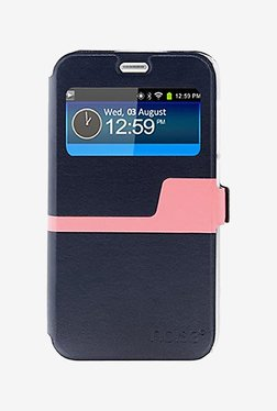 Noise Flip Cover For Samsung Galaxy Note 5 (Blue)