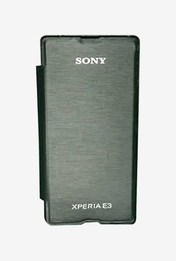 Noise Flip Cover for Sony Xperia E3 (Black)