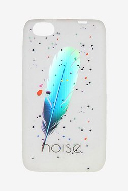 Noise Glow TPU Case For Micromax Canvas Fire 4 A107 (White)
