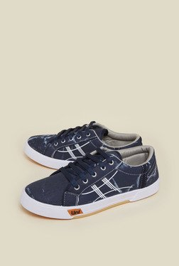 Zudio Navy Canvas Sneaker Shoes