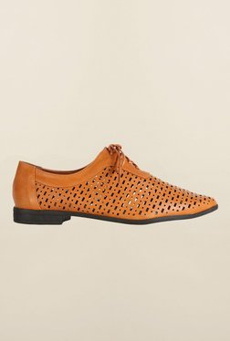 Van Heusen Tan Casual Shoes