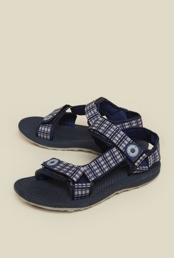Zudio Navy Berry Sandals