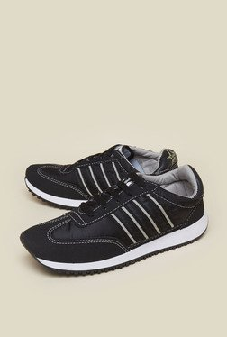 Zudio Black Training Shoes
