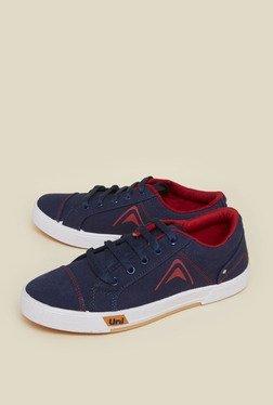 Zudio Navy Canvas Sneaker Shoes