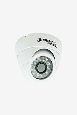 DigiSol DG-CM5220V CMOS Dome Camera (White)