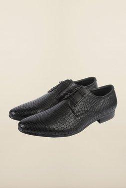 Cobblerz Black Leather Lace Up Shoes