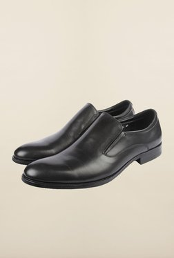 Cobblerz Black Leather Formal Shoes - Mp000000000216008